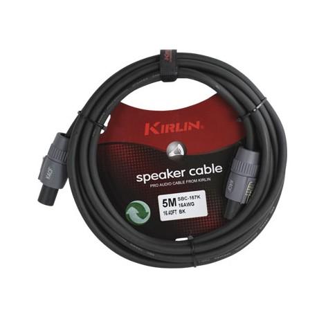 SBC-167K-5M CABLE ALTAVOZ PROFESIONAL K4FC-K4FC