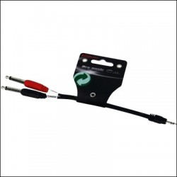 YE-362-0.15M CABLE AUDIO MINI JACK M-2 JACK M