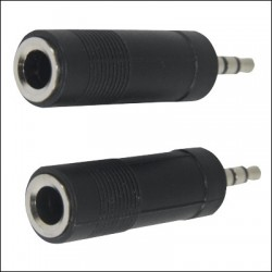 "2612X2 BLISTER 1/4"" STEREO F-3.5MM STEREO M"