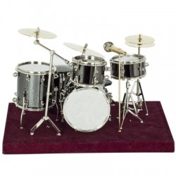 MINI DRUM SET 1:10 LDS/10BK