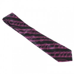 MUSICAL NOTE TIE DL-8426