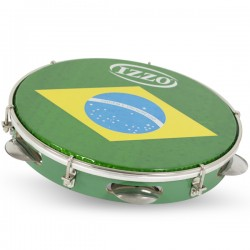 "PANDEIRO 10"" MADERA P/BRASIL C/AGARRE IZ3400"