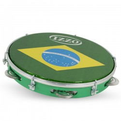 "PANDEIRO 10"" ABS BRASIL HEAD IZ3438"