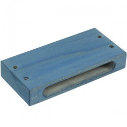 WOOD BLOCK SPECIAL 1 SIDE TONE BLUE REF. 03063