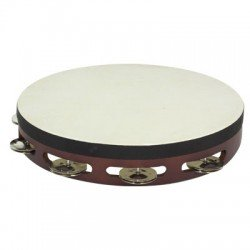 TAMBOURINE WITH HEAD SINGLE...