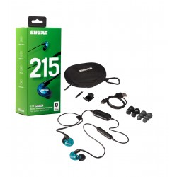 SHURE AURICULAR EARPHONE SE215SPE-B-BT1-EFS