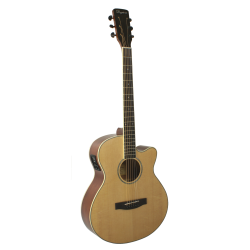 GUITARRA ACuSTICA DAYTONA MINI JUMBO NATURAL