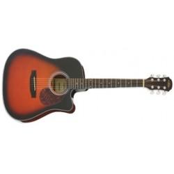 Guitarra Acustica Aria ADW01CEBS Western Cutaway