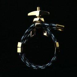ABRAZADERA SILVERSTEIN CLARINETE MEDIUM SAX ALTO SMALL HEXA GOLD