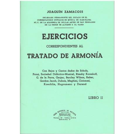 Zamacois. Tratado de Armonía II. Ejercicios. Boileau