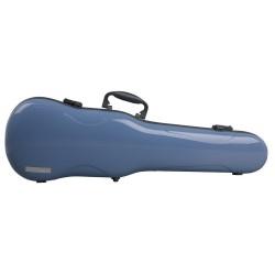 Estuche de violín con forma Air 1.7 Azul brillo