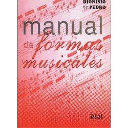 De Pedro, Dionisio. Manual de Formas Musicales