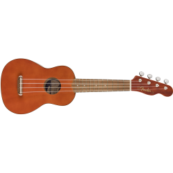 Fender VENICE SOPRANO UKELELE WALNUT