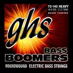 GHS JUEGO BAJO BOOMERS BEAD TUNED HEAVY 60 125