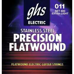 GHS JUEGO ELeCTRICA PRECISSION FLATS EXTRA LIGHT 11 46