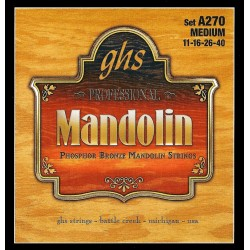 GHS JUEGO MANDOLINA PHOSPHOR BRONZE MEDIUM 11 40