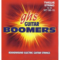GHS JUEGO ELeCTRICA BOOMERS NICKEL LIGHT 12 ST 10 46