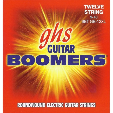 GHS JUEGO ELeCTRICA BOOMERS NICKEL EXTRA LIGHT 12 ST 9 40