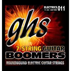 GHS JUEGO ELÉCTRICA BOOMERS® NICKEL MEDIUM HEAVY (7 ST) 11-64 (GHS)