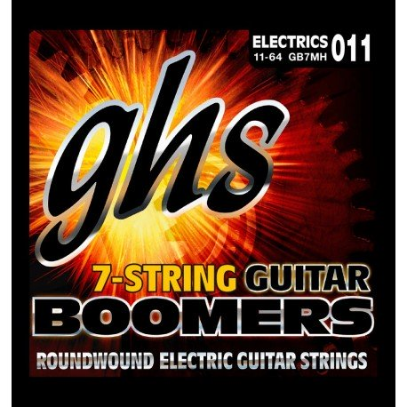 GHS JUEGO ELeCTRICA BOOMERS NICKEL MEDIUM HEAVY 7 ST 11 64