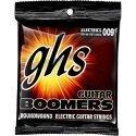 GHS JUEGO ELÉCTRICA BOOMERS® NICKEL CUSTOM LIGHT 9-46 (GHS)