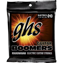 GHS JUEGO ELÉCTRICA BOOMERS® NICKEL LIGHT 10-46 (GHS)