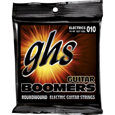 GHS JUEGO ELeCTRICA BOOMERS NICKEL LIGHT 10 46