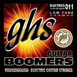 GHS JUEGO ELeCTRICA BOOMERS NICKEL LOW TUNE 11 53