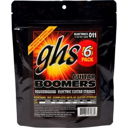 GHS PACK 5 UD JUEGO ELeCTRICA BOOMERS NICKEL MEDIUM 11 50