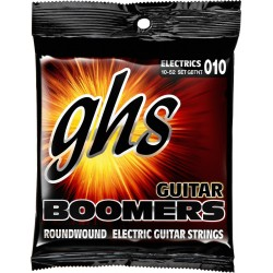 GHS JUEGO ELÉCTRICA BOOMERS® NICKEL THIN-THICK 10-52 (GHS)