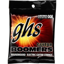 GHS JUEGO ELÉCTRICA BOOMERS® NICKEL ULTRA LIGHT 8-38 (GHS)