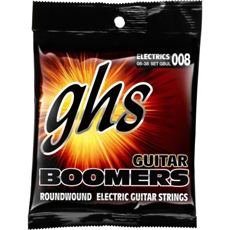 GHS JUEGO ELeCTRICA BOOMERS NICKEL ULTRA LIGHT 8 38