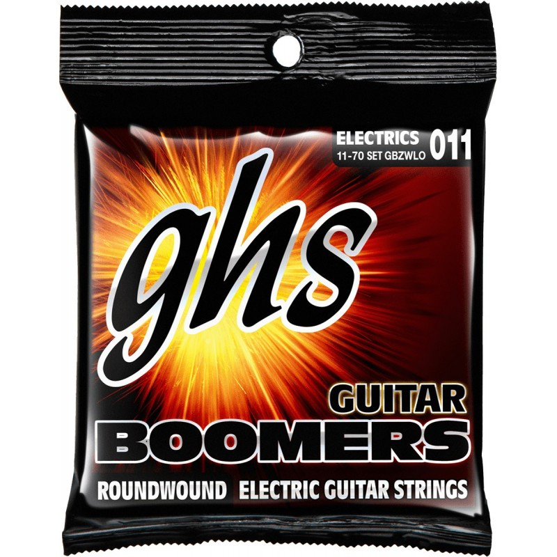 GHS JUEGO ELeCTRICA BOOMERS NICKEL HEAVY WEIGHT LOW 11 70