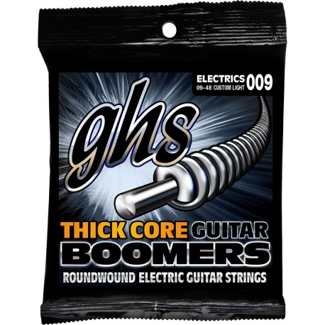 GHS JUEGO ELeCTRICA THICK CORE BOOMERS CUSTOM LIGHT 09 48