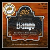 GHS JUEGO BANJO NICKEL PLATE 5ST LIGHT
