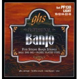 GHS JUEGO BANJO BALL END 5ST LIGHT