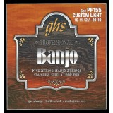 GHS JUEGO BANJO STAINLESS STEEL 5ST CUSTOM LIGHT