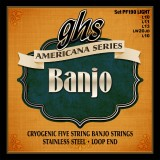 GHS JUEGO BANJO AMERICANA S STAINLESS STEEL 5 ST LIGHT
