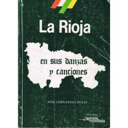 Fernández Rojas. La Rioja en sus Danzas y Canciones Tomo II