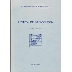 Revista de Musicología Vol.14 (1991 nº3)