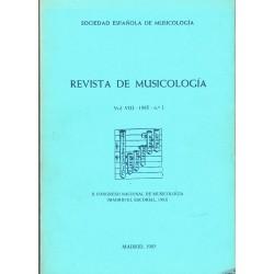 Revista de Musicología Vol.8 (1985 nº1)