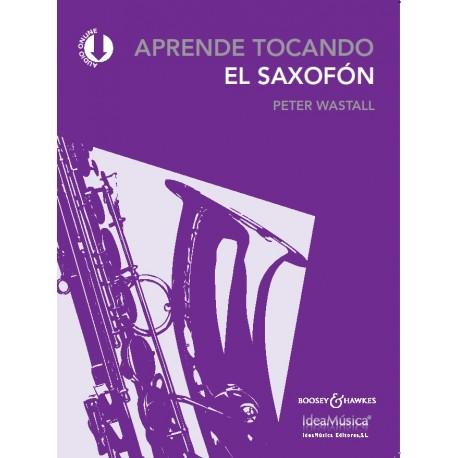 APRENDE TOCANDO Saxofón(Nueva Edición)