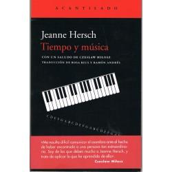 Hersch, Jeanne. Tiempo y Música