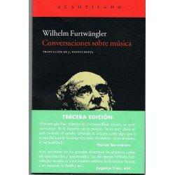 Furtwangler, Wilhelm. Conversaciones sobre Música