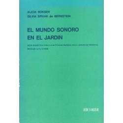 Bokser/Spivak. El Mundo Sonoro en el Jardin