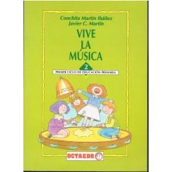 Martin, Conchita/Martin, Javier. Vive la Música 2. Educ.Primaria 1er Ciclo