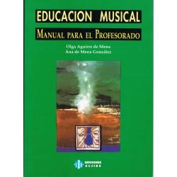 Aguirre/De Mena. Educación Musical. Manual para el Profesorado