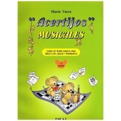 Vacca, María. Acertijos Musicales