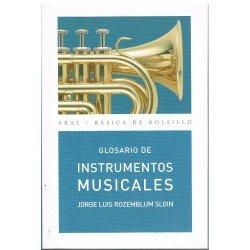 Rozemblum Sloin, Jorge Luis. Glosario de Instrumentos Musicales