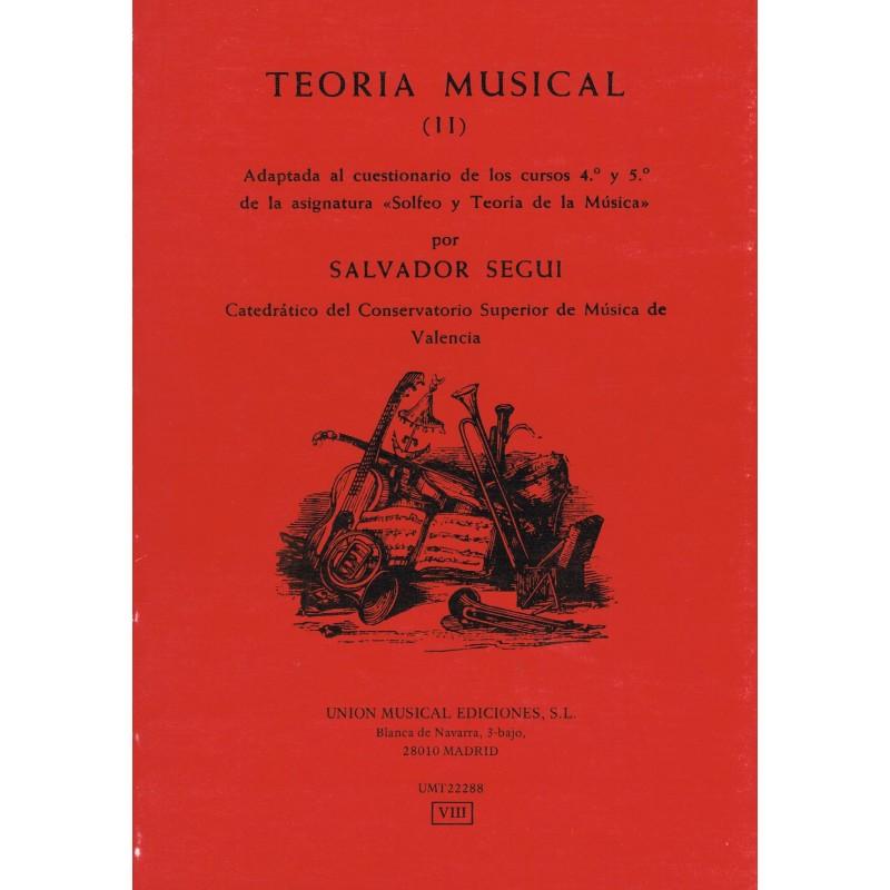 Seguí, Salvador. Teoría Musical (II)